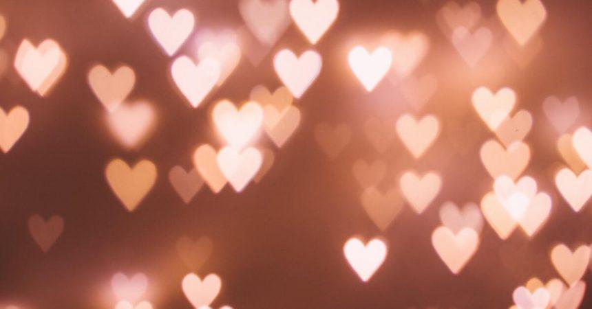 Plein de petits coeurs pour le dîner de Saint Valentin
