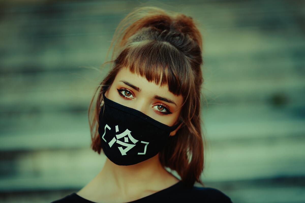 Le masque, nouvel accessoire de mode ?